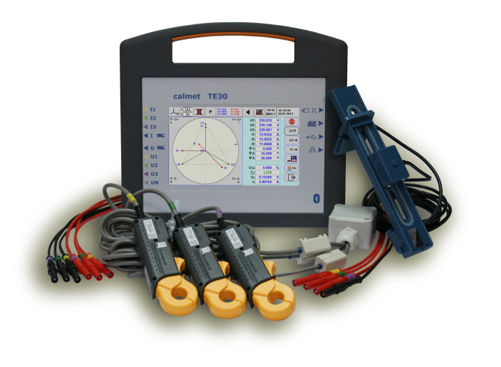 TE30 Three-Phase Network Analyser and Tester of Electricity Meters and Instrument Transformers